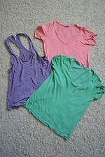 Splendid 3er Set Shirts Größe S Farbe: grün, koralle, lavendel