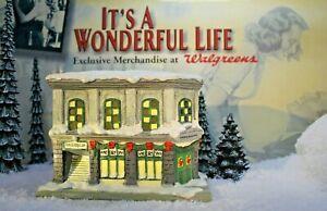 ENESCO IT'S A WONDERFUL LIFE VILLAGE - Bailey Building and Loan item 109407 &Box