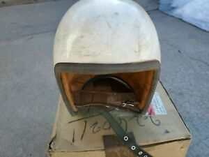 Vintage  Open Face Race Helmet SIZE 7 NEW DANEA