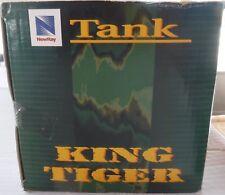 King Tiger Tank Die-Cast Metal w/Plastic NewRay Tank Battery Operation