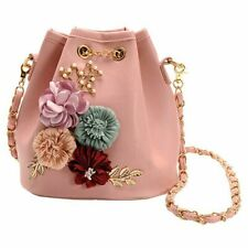 Borse a secchiello per fiori a mano Borse a tracolla mini con catena con co R3W8