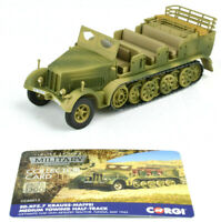 Corgi Sd.Kfz.7 Krauss-Maffei Medium 1:50 Die-Cast Towing Half-Track CC60013