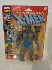 Hasbro Marvel Legends X-Men Marvel's Beast Retro Grey 6 inch Sealed