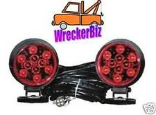 MAGNETIC LED TOW LIGHTS - WRECKER, TOW TRUCK, CAR HAULER, CAR CARRIER COMMERCIAL