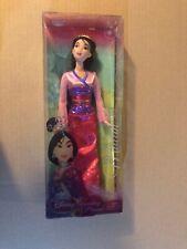 Disney Sparkling Princess Mulan Doll by Mattel - brand new