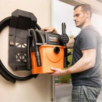 Wall Mount Wet Dry Vacuum Cleaner Garage Leaf Blower Portable Suction Hose Vac