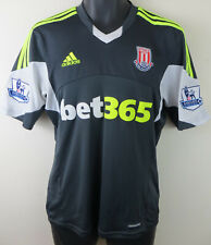 Adidas Stoke City Football Shirt 2013-14 Away Soccer Jersey Maillot Mens Small S