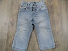 TOMMY HILFIGER coole helle used look Jeans straight Gr. 6-9 Mon. TOP ZeC917