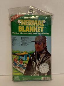 Cintage 1987 Coghlans All Purpose Thermal Blanket- NOS