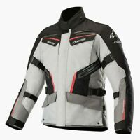 Alpinestars Patron Gore-Tex Grey Red Black Waterproof Motorcycle Jacket New