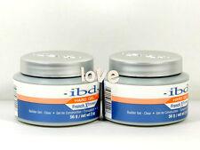 IBD New French Xtreme CLEAR 56g/2oz - French Xtreme Builder UV Gel Set of 2 jars