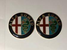 Alfa Romeo 74mm Front Rear Emblem Badge fits GT Giulietta Mito 159 156 147 166