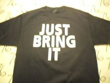 Large- WWE Just Bring It Authentic T- Shirt