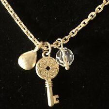 Keynote Necklace Nwt Gold