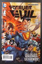 Forever Evil #1 1:25 Joe Prado Villain Variant Ultraman DC Comic Book New 52