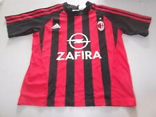 MAILLOT MILAN AC ADIDAS / TAILLE 8 ANS