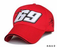 Moto Gp Baseball Cap 69 Race Nicky Hayden Same Paragraph Snapback Hats #RED