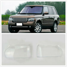 Pair Headlight Lens Cover Lampshade For Land Rover Range Rover Vogue 2010-2012