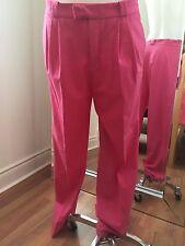 ZARA TRAFALUC Fuchsia Pink Dress Pants Size S Retail $80