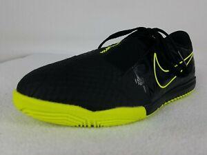 Nike Phantom Venom Indoor Soccer Shoes Size 6 Youth Black & Volt AO0372-007