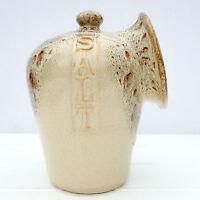 Vintage Retro Fosters Studio Pottery Honeycomb Salt Pig