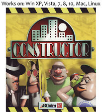 Constructor PC Mac Linux Game 1997