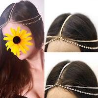Luxury Women's Bohemian Head Chain Jewelry Forehead Headband Piece Hair Gift 1PC