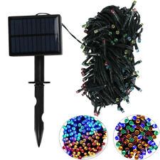 36FT 100LED Outdoor Solar Powered String Light Garden Christmas Party Fairy Lamp