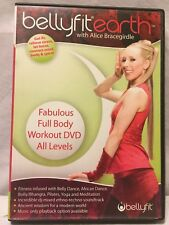 NEW Bellyfit Earth Alice Bracegirdle Belly dance african bolly pilates yoga DVD