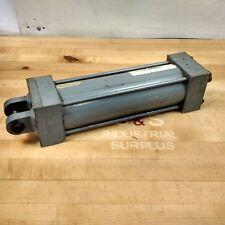 "Miller Fluid Power A86B6N Pneumatic Cylinder, 3-1/4"" Bore, 9"" Stroke, 250 Psi"