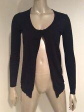 Barbara Bui Black Cashmere Silk Women's  Sexy Cardigan Sweater XS
