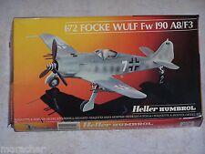 Maquette HELLER HUMBROL  1/72ème FOCKE WULF Fw 190 A8/ F3