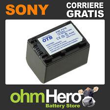 Batteria Alta Qualità SOSTITUISCE Sony NPFV30, NP-FV30, NPFV50, NP-FV50,