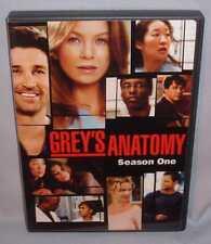 DVD GREY'S ANATOMY SEASON ONE (1) 2  Disc BOX SET MINT