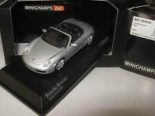 MINICHAMPS 1/64 640065630 Porsche Boxster 2005 Silber