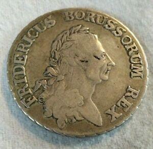 Preußen 1 Reichsthaler 1786 A Friedrich II., Silber