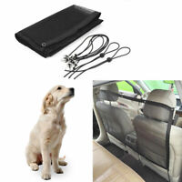 Pet Safety Travel Isolation Net Car Truck Back Seat Dog Barrier Mesh 115x62cm
