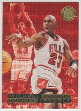 1995-96  MICHAEL JORDAN Fleer Ultra DOUBLE TROUBLE Gold Medallion Card # 3 BULLS