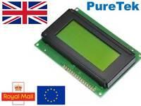 LCD Display Blue Green/Yellow 1602 16X2 or 2004 20X4 HD44780 Arduino RPi ESP8266