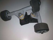 GULLWING STREET SHADOW 8.5 SKATEBOARD TRUCKS + H-STREET WHEELS + BEARINGS - NOS