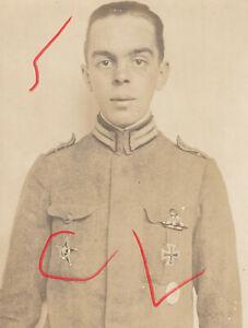 Foto Soldat Feldgrau Eiserner Halbmond Offz. EK VWA Gallipolli Star Türkei #207