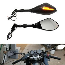 Hot Sale Motorcycle LED Turn Signal Integrated Indicator Light Rearview Mirrors