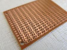 10pcs 7x5cm Stripboard Prototype paper circuit Board Breadboard vero 2er hole