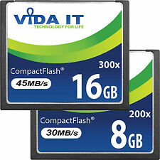 8GB 16GB Compact Flash CF Memory Card High Speed 200x 300x For Digital Camera UK
