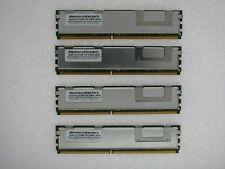 16GB 4X4GB PC2-5300F DDR2 667 FB DIMM Dell Precision 490 690 T7400 Memory TESTED