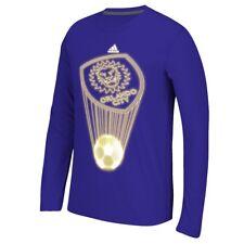 "Orlando City SC Adidas MLS ""Glow Explode"" Men's Climalite Long Sleeve T-Shirt"