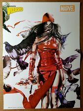 Elektra Marvel Comics Poster by Rodolfo Migliari