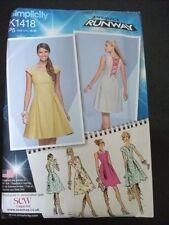 Simplicity Project Runway K1418 womens dress sewing pattern