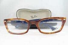 Ray-Ban RB 5150 5609 Havana with Blue New Authentic Eyeglasses 50mm w/Case