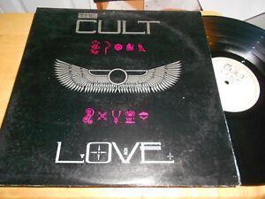 the cult   vinyl l.p.             love...